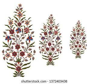 Mughal flower motif bunch