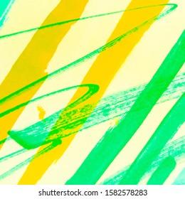 Multi Stripes. Mint Brush Stroke Vertical. Colorful Stripes Patterns. Water Color Motifs. Khaki Stripes. Minimalistic Pattern. Yellow Acrylic.