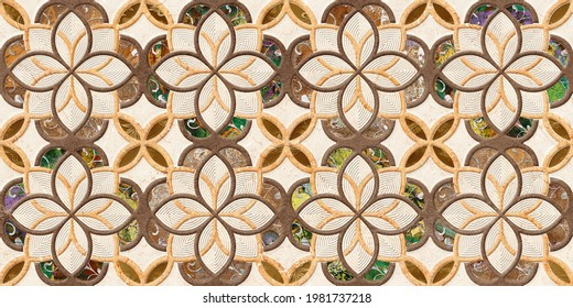 Multicolor 3D Digital Wall Tile Decor For interior Home or Ceramic wall tile Design, Heavily Mixed Wall Art Decor For Home, wallpaper, linoleum, textile, web page background