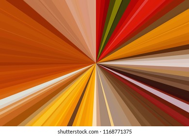 Multicolor abstract rays background. Colorful stripes beam pattern. Stylish illustration modern trend colors backdrop.