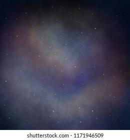 Multi-color nebula background, ideal for blogs, websites, prints, cardstocks, and textile.