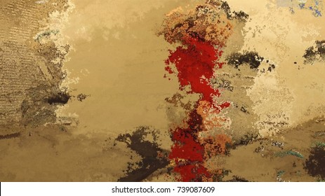 multicolored creative abstract graphic grunge background texture stylized painted concrete wall