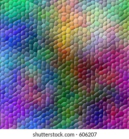 Multicolored mosaic background (rendered image)