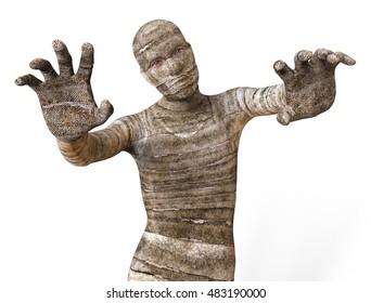 Mummy 3D Illustration