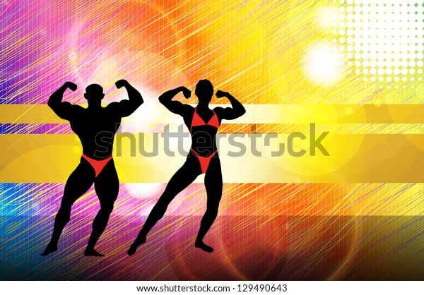 Muscular people