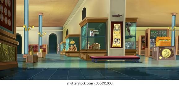 Museum interior. Image one