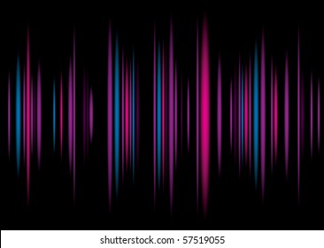 Music equaliser inspire colorful background illustration with graph bars
