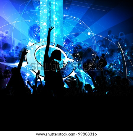 Royalty Free Stock Illustration Of Music Event Background Stock