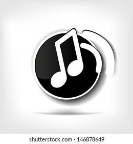 Music web icon