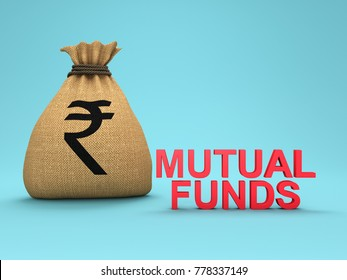 Mutual Funds Concept - 3D Rendered Image