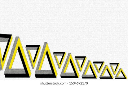 My design has a distinctive yellow and black background