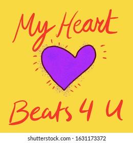 My heart beats for U!