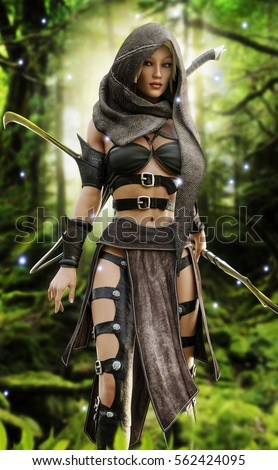 Sexy woodland elf redhead pics 156