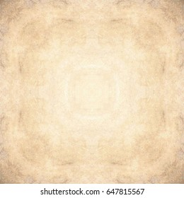 Mystical symbol, beautiful abstract decoration. Paper design