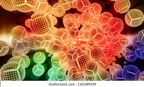Nanoparticles for Nanomedicine - Abstract Illustration
