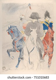 Napoleon, by Henri de Toulouse-Lautrec, 1895, French Post-Impressionist print. This lithograph is based on a drawing Lautrec submitted in a competition to advertise a biography of Bonaparte. After Lau