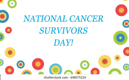 National Cancer Survivor Day/June