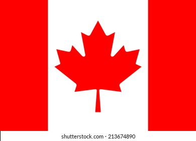 National flag of Canada, Authentic 3:5 scale and color