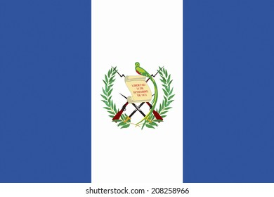 The National Flag Of Guatemala