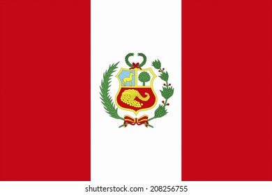 The National Flag Of Peru