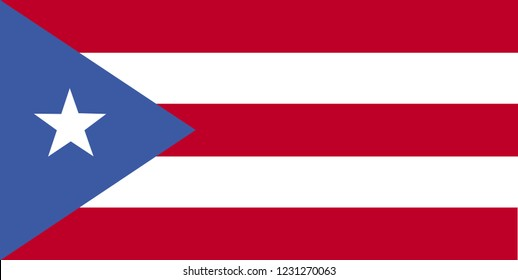 National flag of Puerto-Rico. Background  with flag of Puerto-Rico.