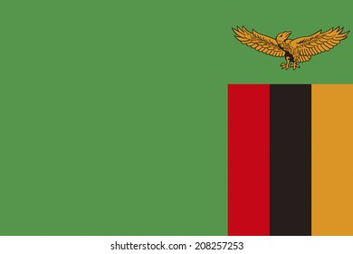 The National Flag Of Zambia