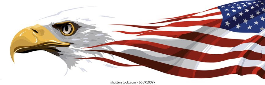 National Symbol Usa Stock Vector Royalty Free 653184253 Shutterstock