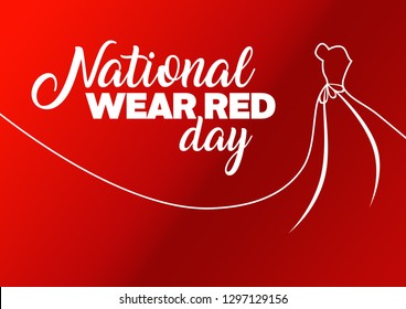 National wear red day motivation
