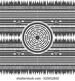 Aztec War Stock Illustrations, Images & Vectors | Shutterstock
