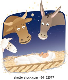 Nativity Raster image.