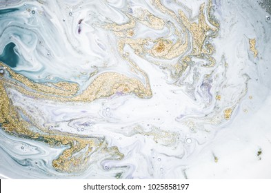 Natural Luxury. Marbleized effect. Ancient oriental drawing technique. Marble texture. Beautiful pattern. Oriental art. Marbling background