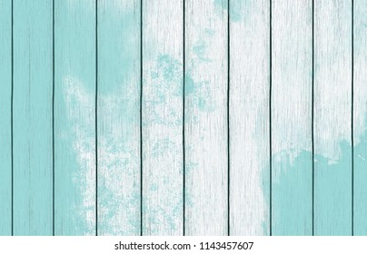 Natural wooden texture background with light blue paint for design, as texture pattern, nature pattern, and as digital paper
