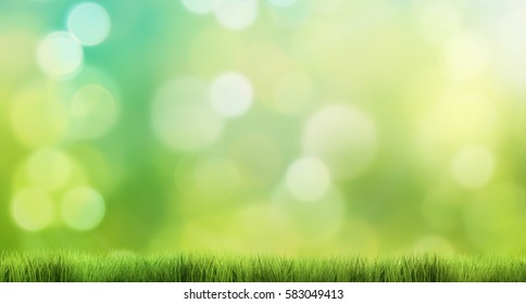nature background 3d render grass