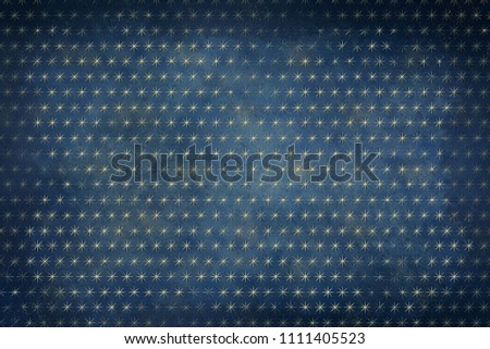navy blue gold celestial stars background stock illustration