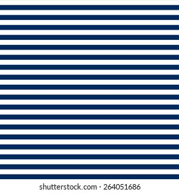 navy blue & white horizontal stripes pattern, seamless texture background
