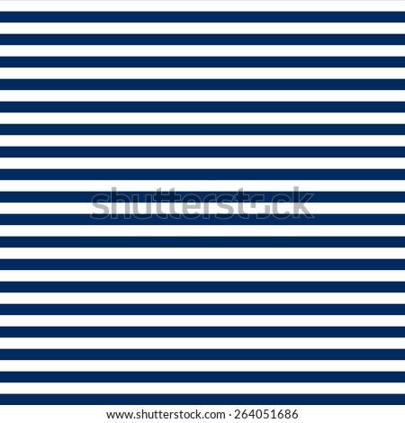 7eae188e621 Navy Blue White Horizontal Stripes Pattern Stock Illustration ...