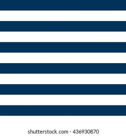 Navy Blue and White Striped Pattern Background