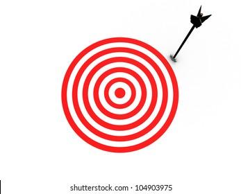 Near target miss