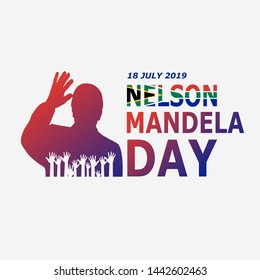 Nelson Mandela international day 2019, Can use in anywhere.