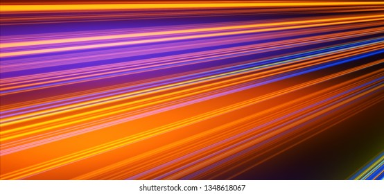 Neon Background. Abstract lines. Laser beams. Stylish wallpaper. Neon Lights. Orange and Blue.