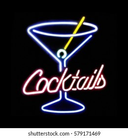 Neon / Cocktail / Sign
