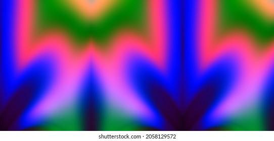 Neon color art abstract widescreen modern header
