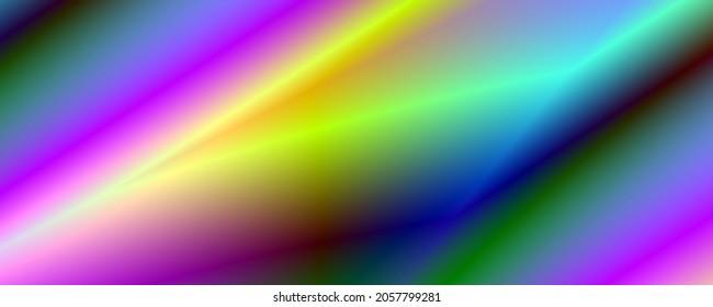 Neon colors art widescreen illustration design