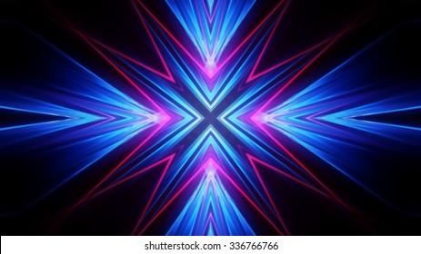 Neon lights symbol background