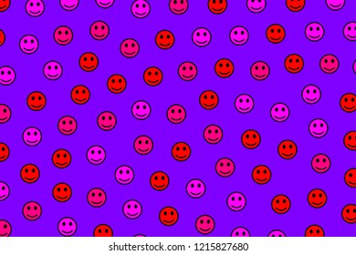Net backdrop. Geometric pattern. Throng composed of smart moods.