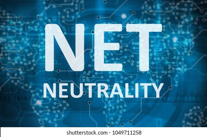net neutrality abstract background