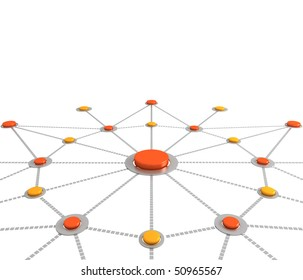 Network or connection background