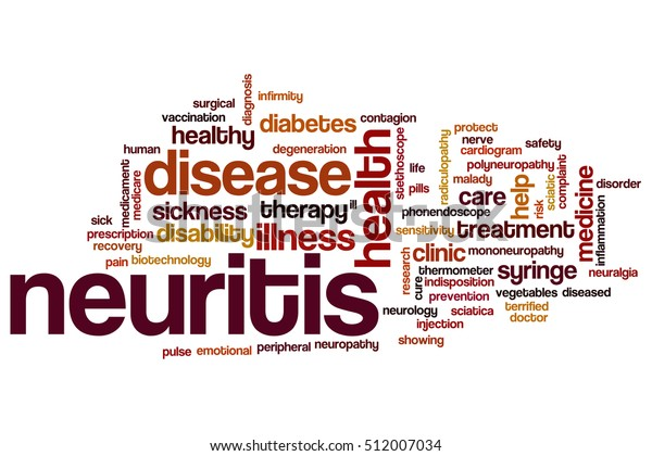 Neuritis Word Cloud Concept Stock Illustration 512007034