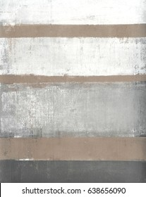 Neutral Abstract Art Painting