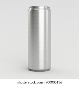 New 330ml 3D Render Isolated Aliminum Soda Can